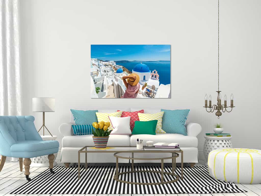 Photos of Santorini for home and office ready to hang. Picutres of santorini fine art photography