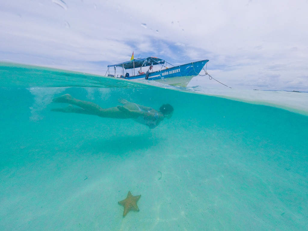 Best places to photograph in San blas panama, Swimming with the stars