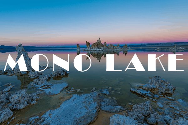 Mono Lake South Tufa Photography Spots