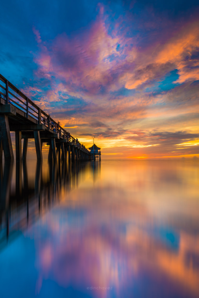 Nikon 14-24 Lens Review pier landscape photography naples florida