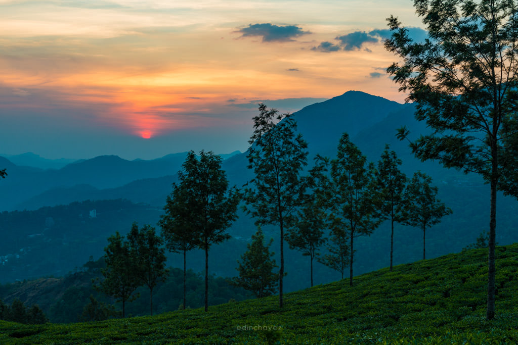 Wayanad sunset best places to photograph in kerala