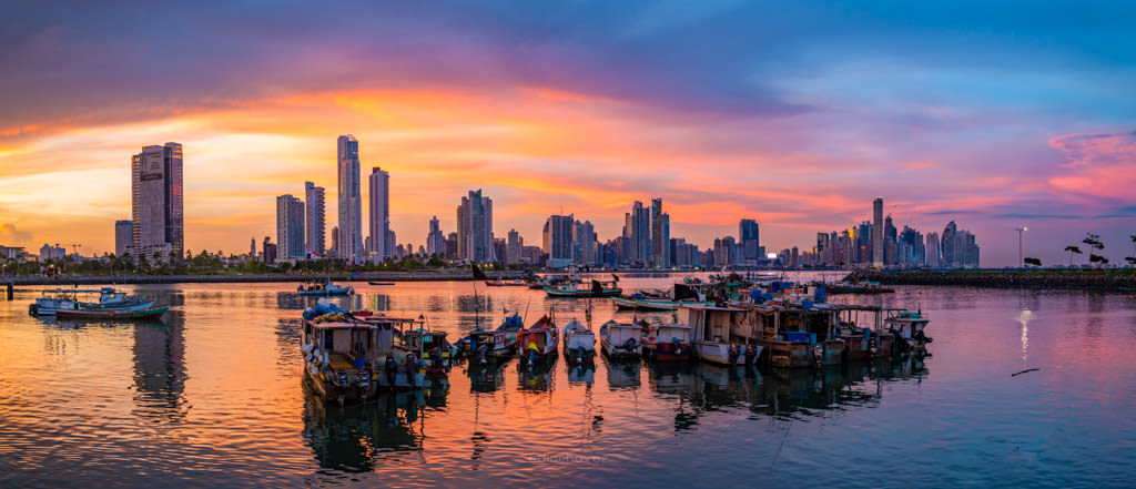 how to create panorama photos, pano, panorama photos, panama city skyline, Panama city photography meet up