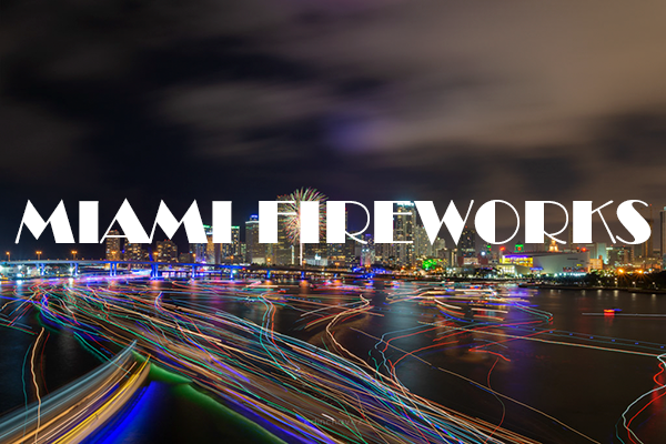 what is the best location to take photos of the Miami fireworks