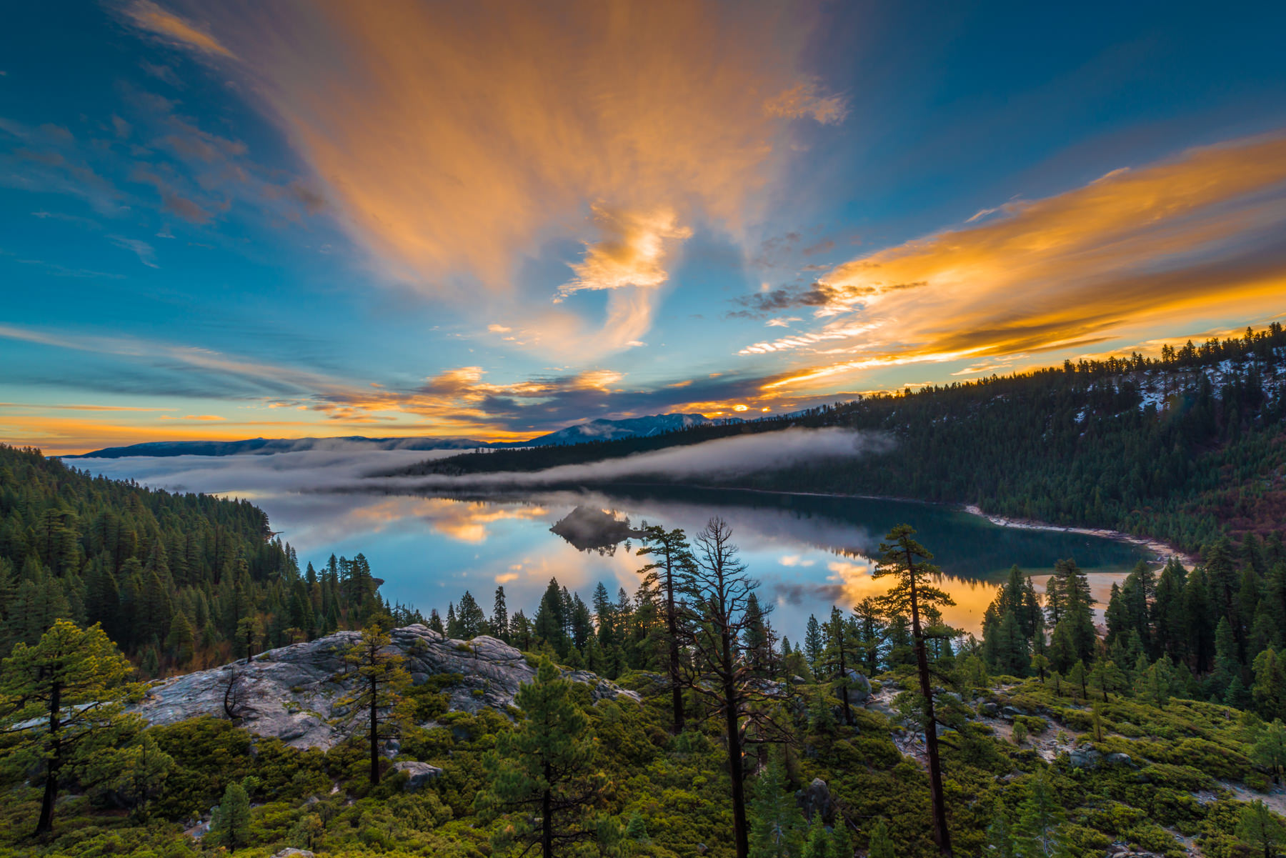 best locations for photos in lake tahoe