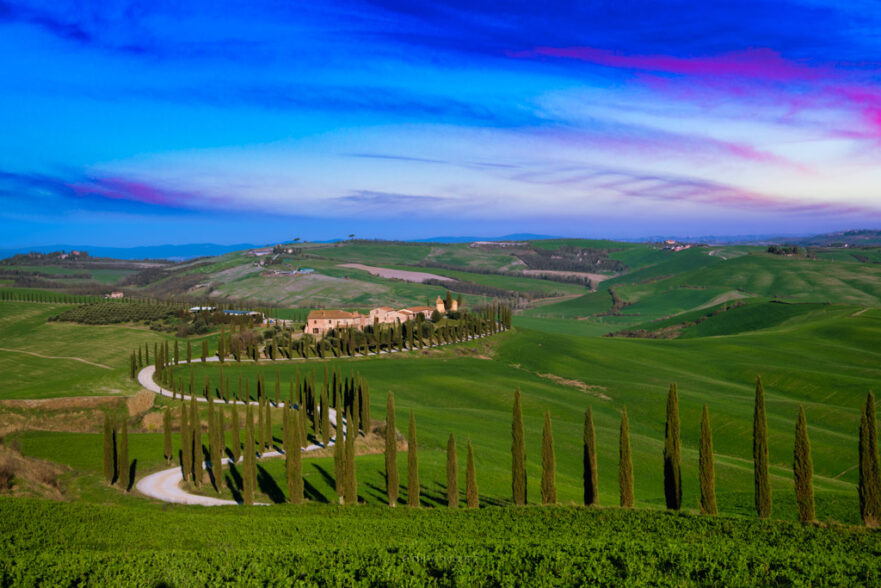 Best places to take photos in tuscany italy