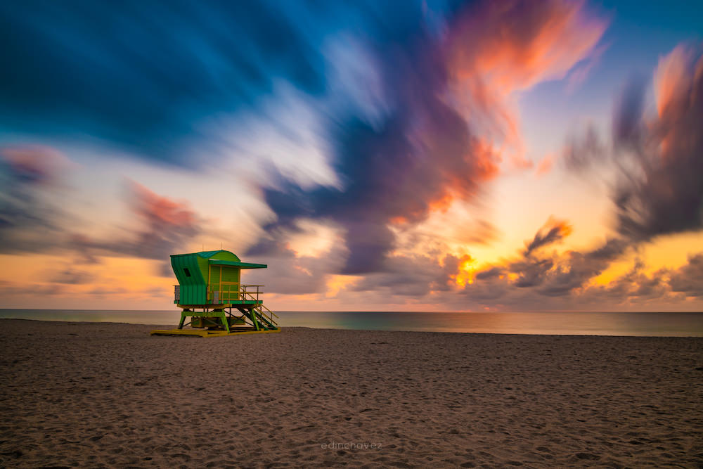 Capture breathtaking sunrise photos in Miami Beach